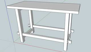 Cotage's workbench